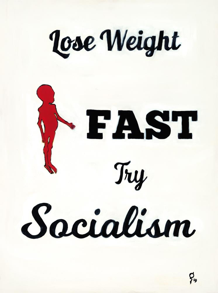 Weight Loss Ad Giclee Print