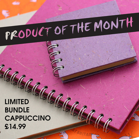 Product of the Month Cappuccino Sketchbooks
