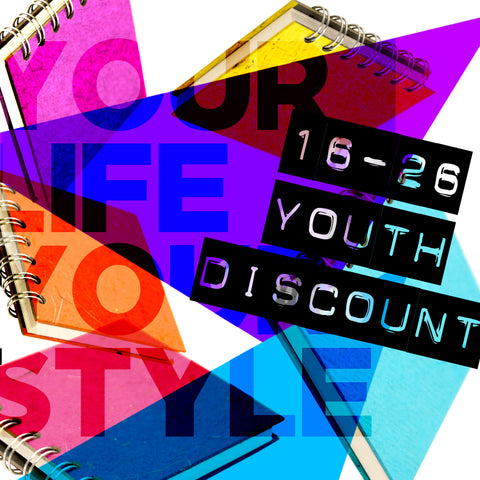 16-26 Youth Discount