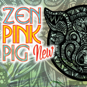 Zen Pigs, perfect for zentagle drawings