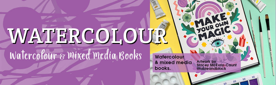 Pink Pig Watercolour Books