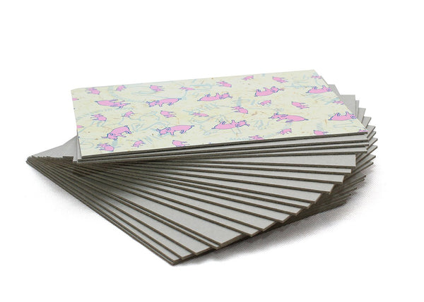 20pk A5 Grey Boards