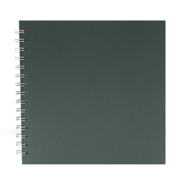 8x8 Square, Eco Green Sketchbook by Pink Pig International