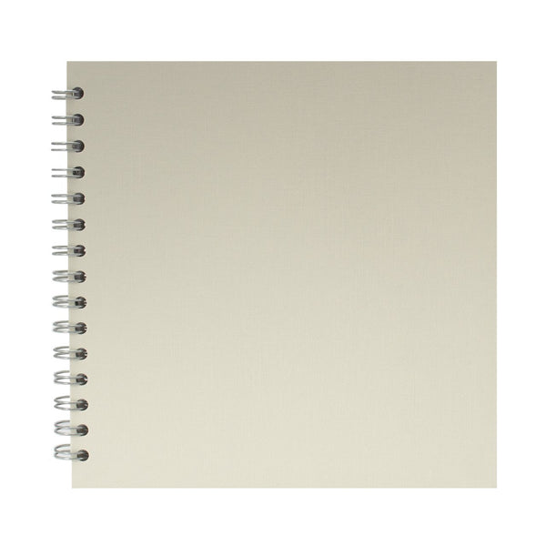 8x8 Square, Eco Ivory Sketchbook by Pink Pig International