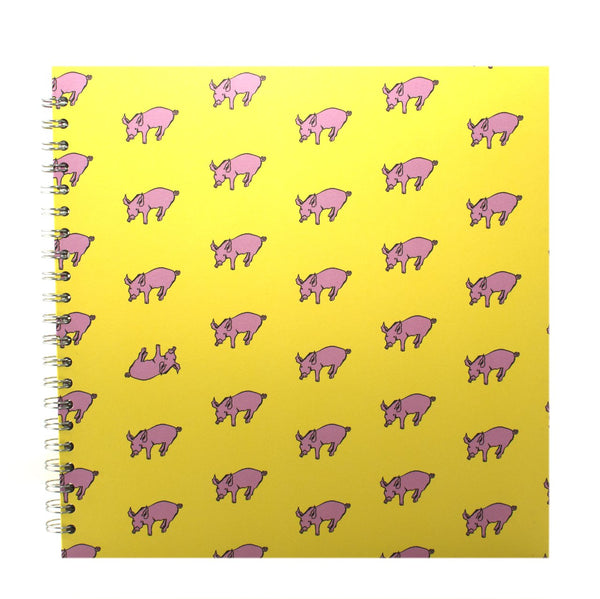11x11 Square, Sunshine Yellow Display Book by Pink Pig International
