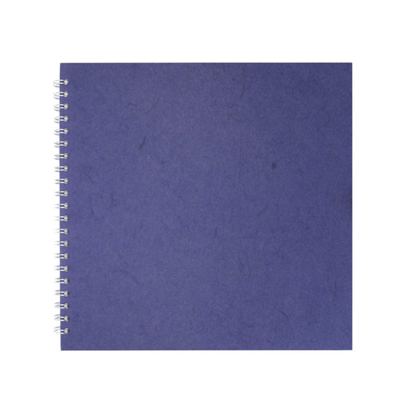 11x11 Square, Eco Blue Sketchbook by Pink Pig International