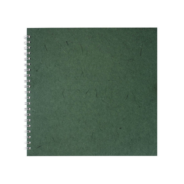 11x11 Square, Eco Green Sketchbook by Pink Pig International