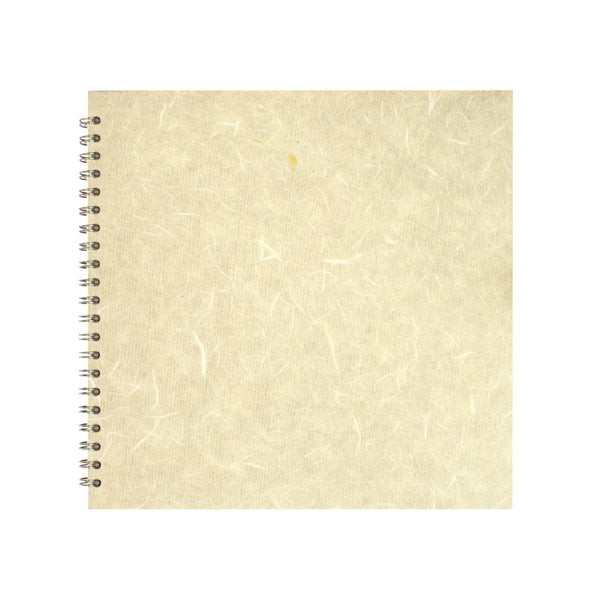 11x11 Square, Ivory Sketchbook by Pink Pig International