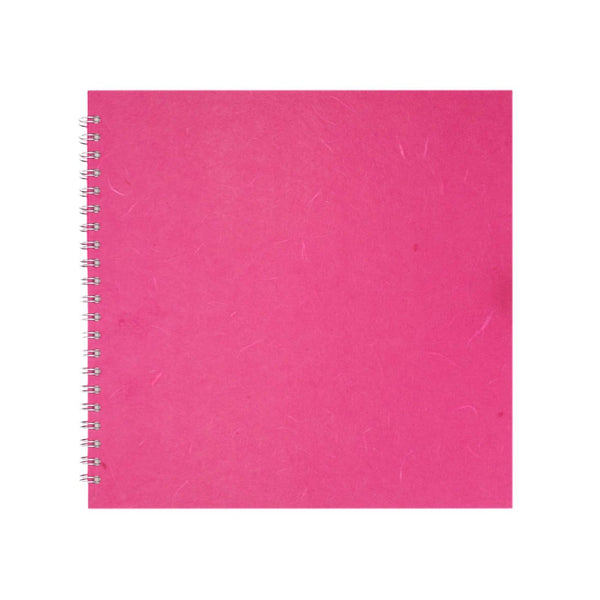 11x11 Square, Bright Pink Sketchbook by Pink Pig International