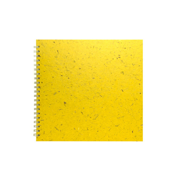 11x11 Square, Wild Yellow Sketchbook by Pink Pig International