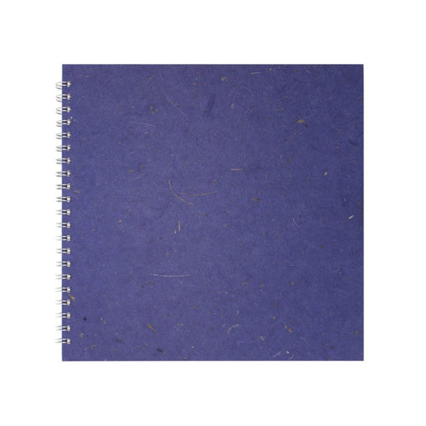 11x11 Square, Sapphire Sketchbook by Pink Pig International