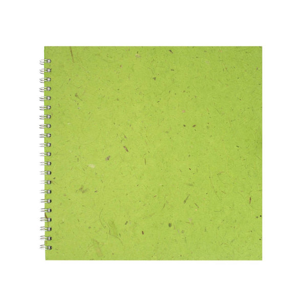 11x11 Square, Emerald Sketchbook by Pink Pig International