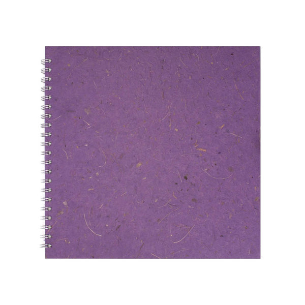 11x11 Square, Amethyst Sketchbook by Pink Pig International