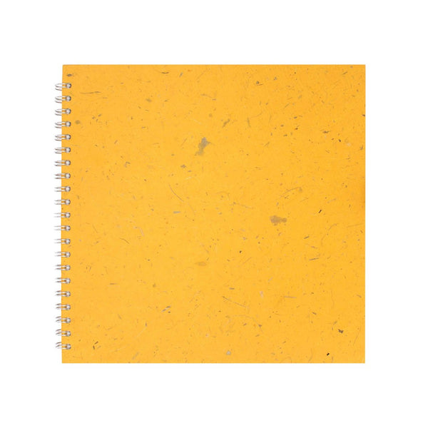 11x11 Square, Amber Sketchbook by Pink Pig International