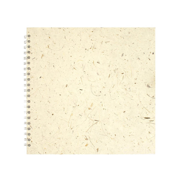 11x11 Square, Natural Sketchbook by Pink Pig International