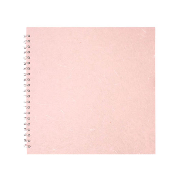 11x11 Square, Pale Pink Sketchbook by Pink Pig International