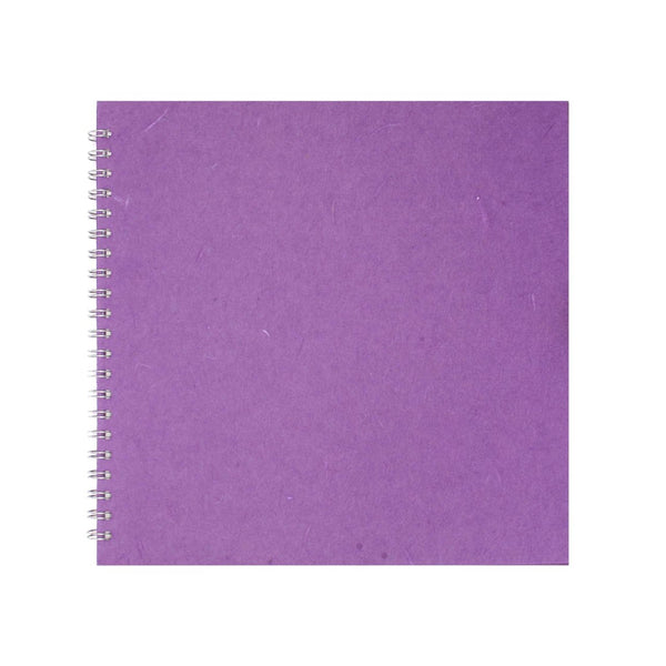 11x11 Square, Purple Display Book by Pink Pig International