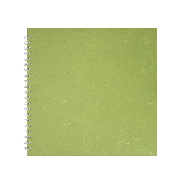 11x11 Square, Moss Sketchbook by Pink Pig International