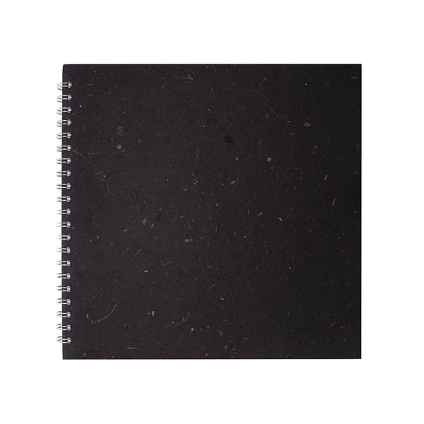 11x11 Square, Ebony Sketchbook by Pink Pig International