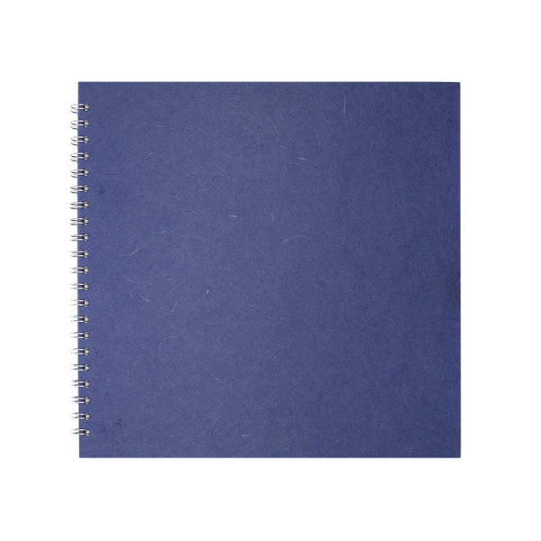 11x11 Square, Mid Blue Sketchbook by Pink Pig International