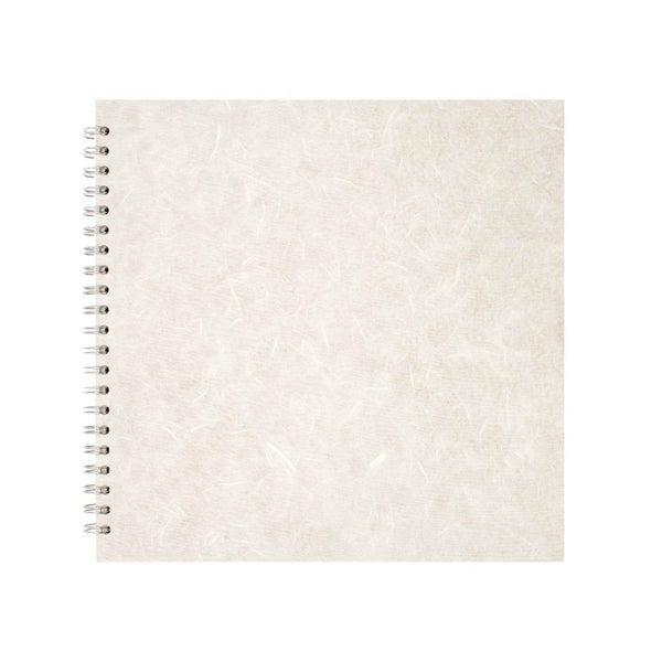 11x11 Square, White Sketchbook by Pink Pig International