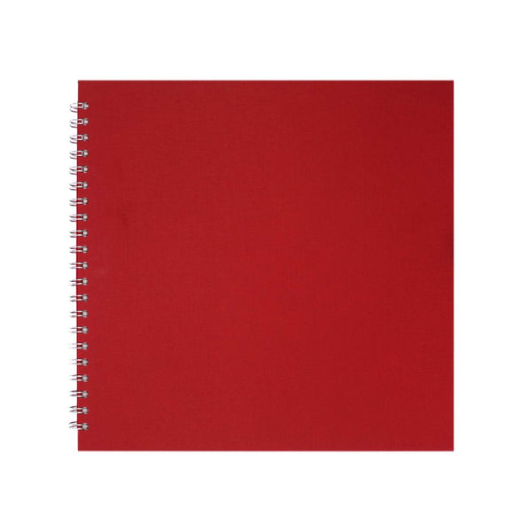 11x11 Square, Eco Red Display Book by Pink Pig International
