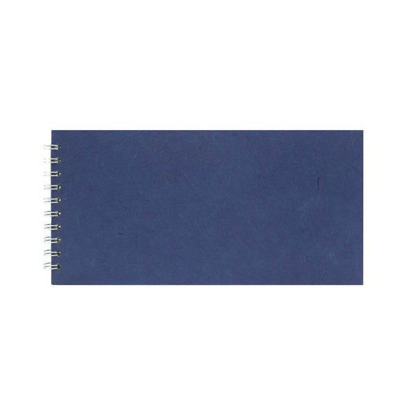 12x6 Landscape, Royal Blue Watercolour Book by Pink Pig International