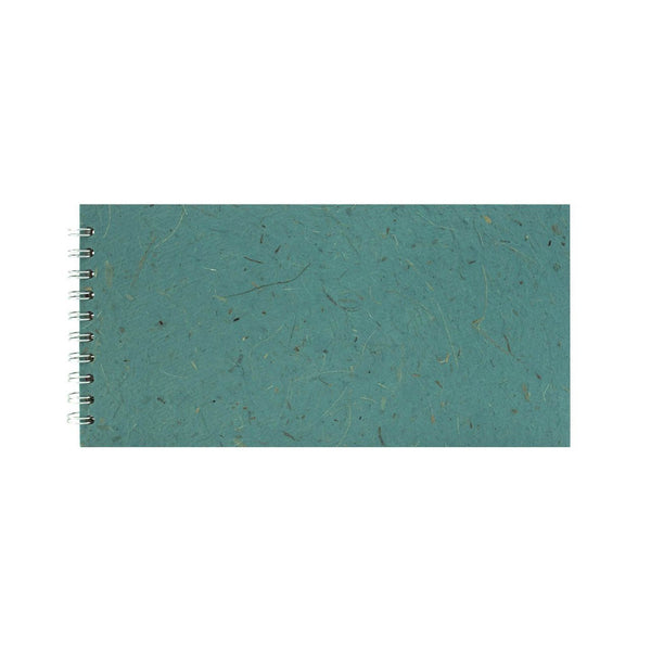 12x6 Landscape, Turquoise Sketchbook by Pink Pig International
