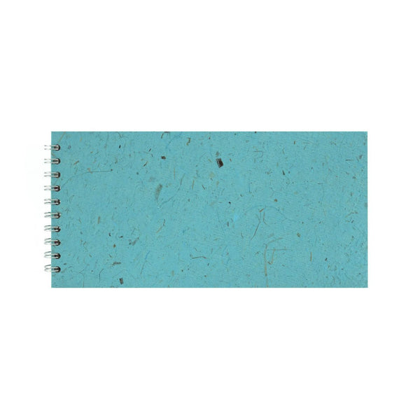 12x6 Landscape, Sky Blue Sketchbook by Pink Pig International
