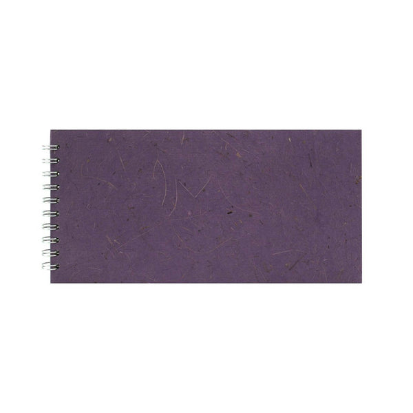 12x6 Landscape, Amethyst Watercolour Book by Pink Pig International