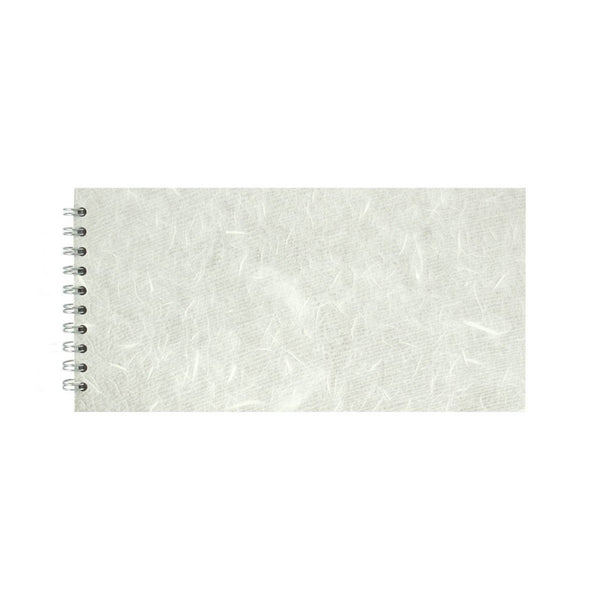 12x6 Landscape, White Watercolour Book by Pink Pig International