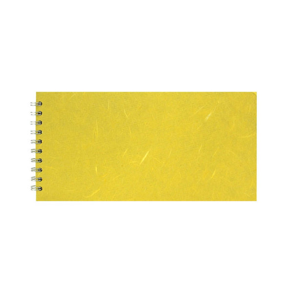 12x6 Landscape, Yellow Watercolour Book by Pink Pig International