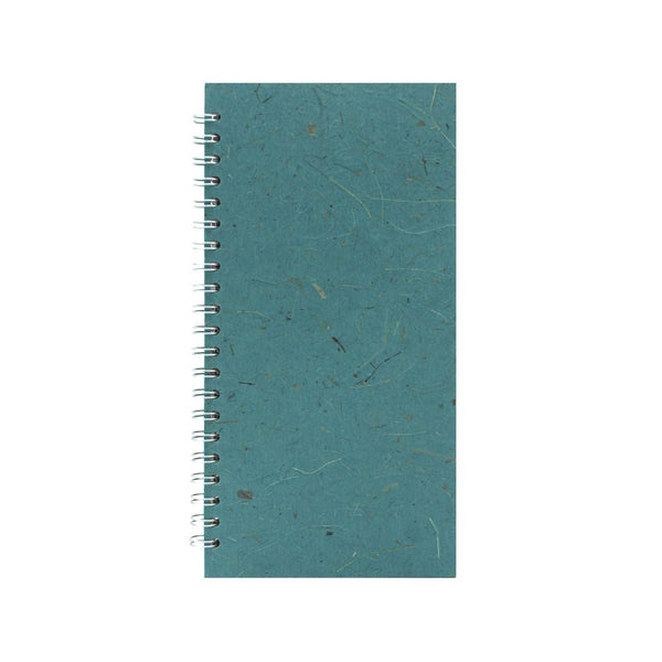 12x6 Portrait, Turquoise Sketchbook by Pink Pig International