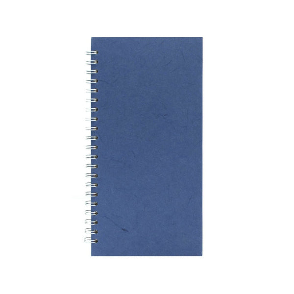 12x6 Portrait, Mid Blue Sketchbook by Pink Pig International