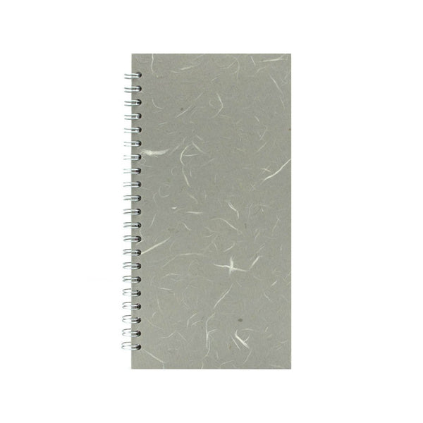 12x6 Portrait, Pale Grey Sketchbook by Pink Pig International