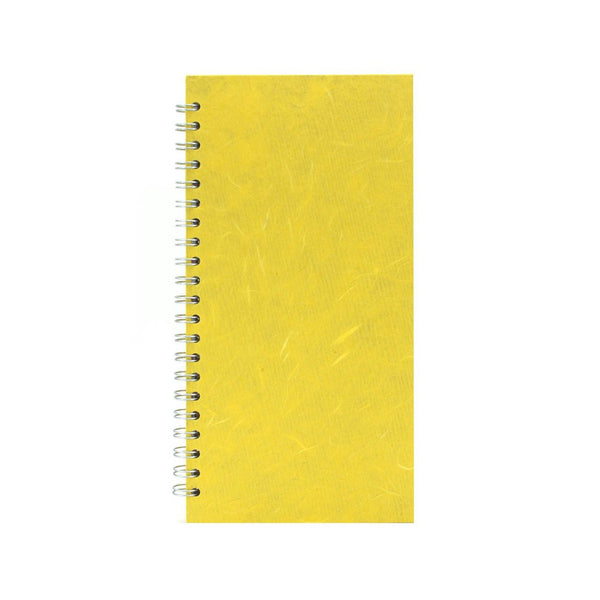 12x6 Portrait, Yellow Sketchbook by Pink Pig International