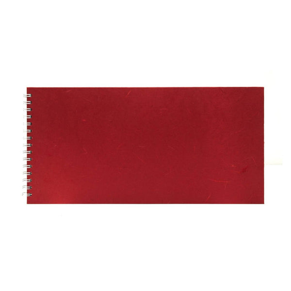 16x8 Landscape, Red Sketchbook by Pink Pig International
