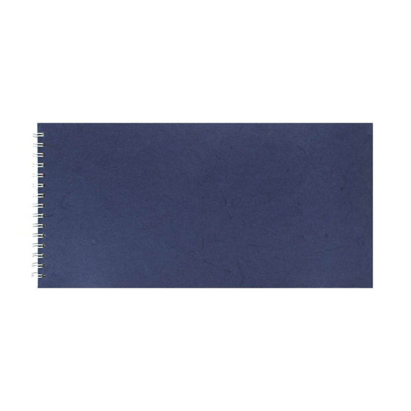 16x8 Landscape, Royal Blue Watercolour Book by Pink Pig International