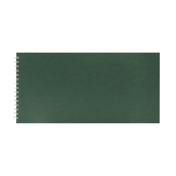 16x8 Landscape, Dark Green Sketchbook by Pink Pig International