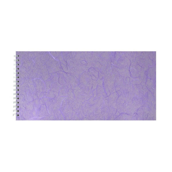 16x8 Landscape, Lilac Watercolour Book by Pink Pig International