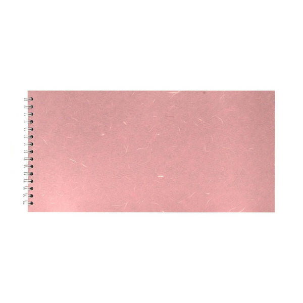 16x8 Landscape, Pale Pink Watercolour Book by Pink Pig International