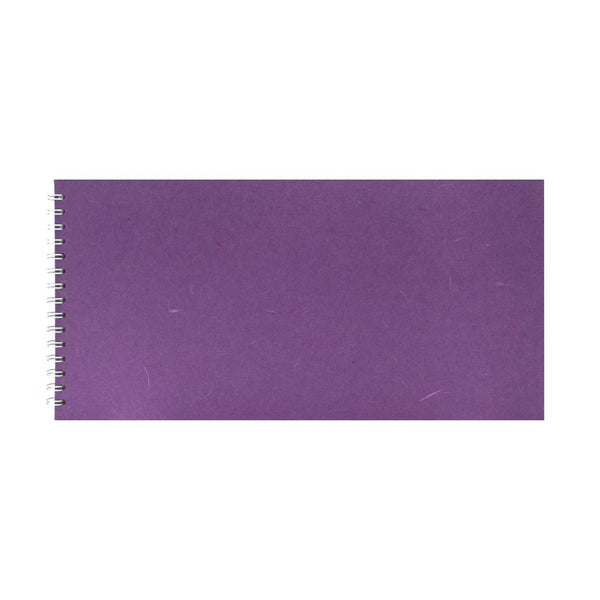 16x8 Landscape, Purple Watercolour Book by Pink Pig International