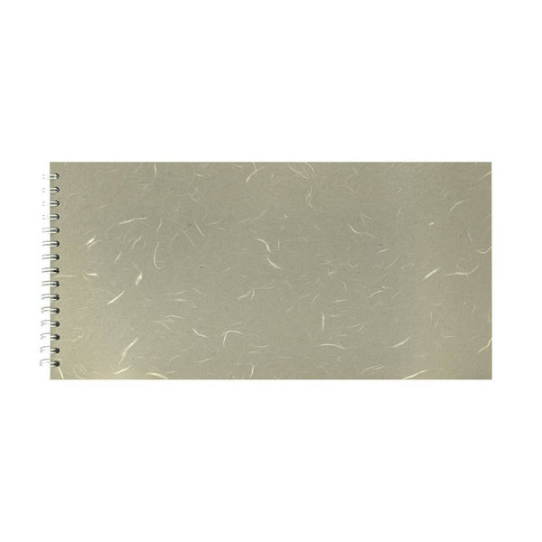 16x8 Landscape, Pale Grey Sketchbook by Pink Pig International