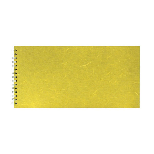 16x8 Landscape, Yellow Watercolour Book by Pink Pig International