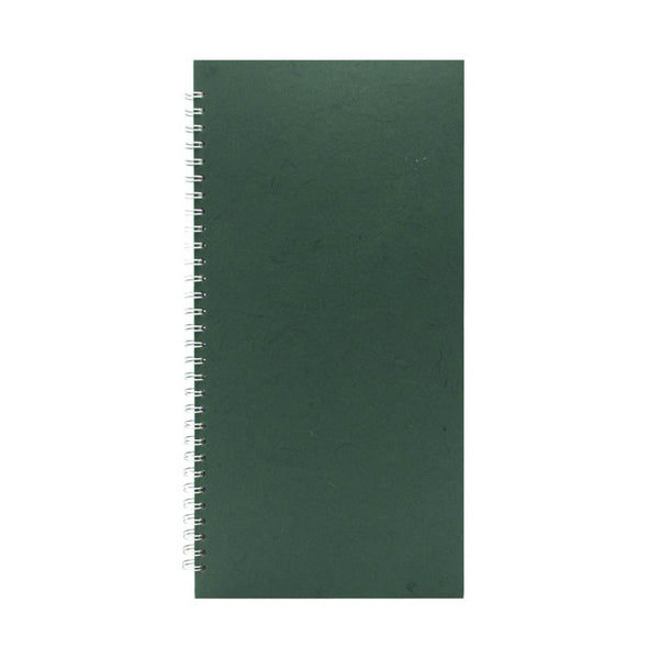 16x8 Portrait, Dark Green Sketchbook by Pink Pig International