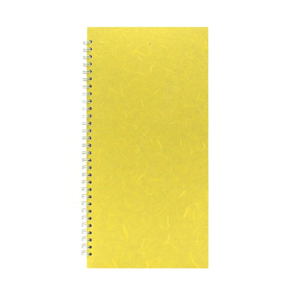 16x8 Portrait, Yellow Sketchbook by Pink Pig International