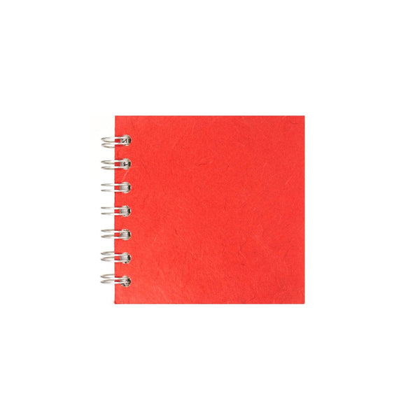 4x4 Square, Red Sketchbook by Pink Pig International