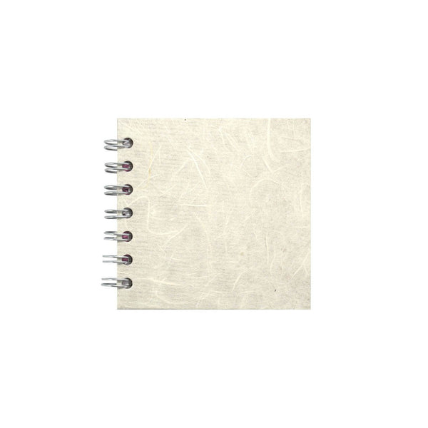 4x4 Square, Ivory Sketchbook by Pink Pig International