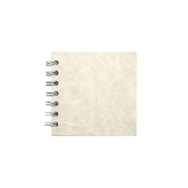 4x4 Zen Book, Ivory Sketchbook by Pink Pig International