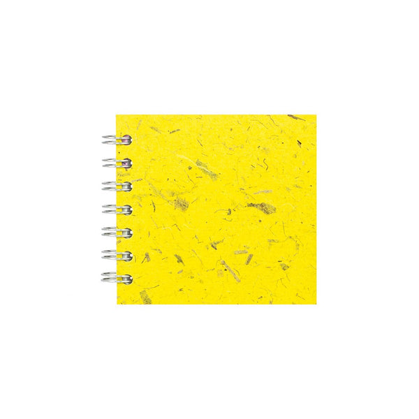 4x4 Zen Book, Wild Yellow Sketchbook by Pink Pig International
